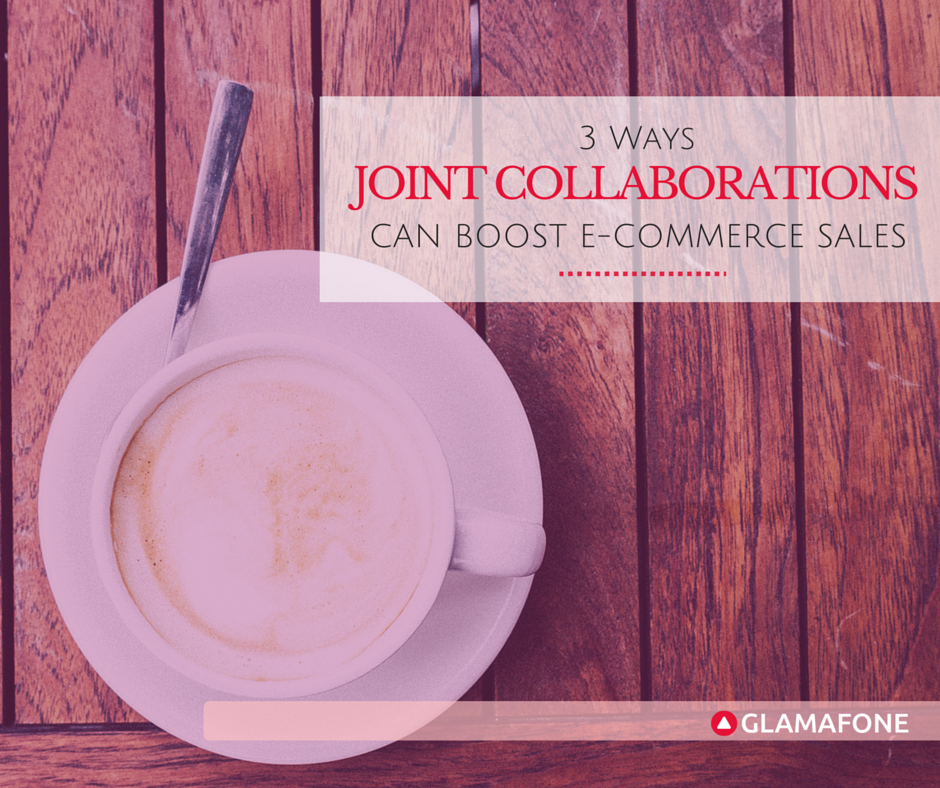 Poster for a blog article on joint collaboration to boost your e-commerce sales