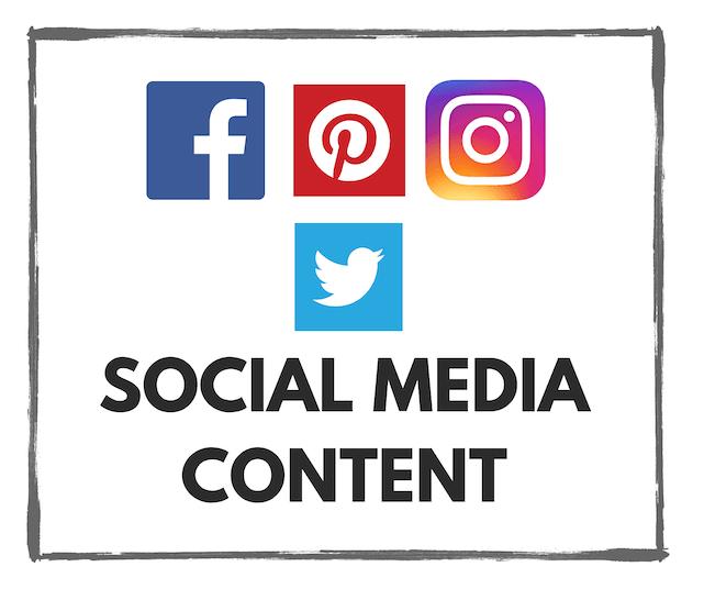 social media content handmade